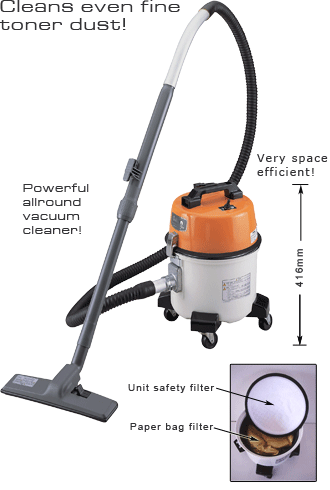vacuum toner cleaners office dust type dry cleaner suiden scv t105