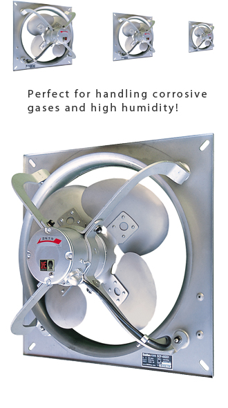 Wall Fans High Volume Low Pressure : Suiden industrial pressure ventilation fans stainless